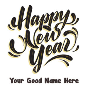 Write Name New Year 2019 Wishes Picture Download Free