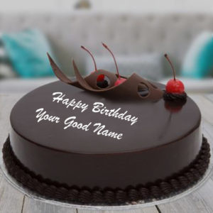 Cherry Chocolate Birthday Cake Name Profile Status Pics