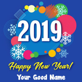 Happy New Year 2019 Name Create HD Pictures Download