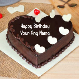 Love Chocolaty Birthday Cake Name Create Online
