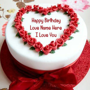 Write Lover Name Unique Birthday Cake Picture Create