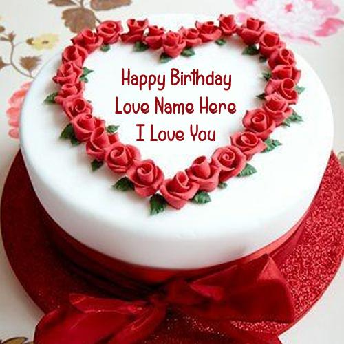 Write Lover Name Unique Birthday Cake Picture Create