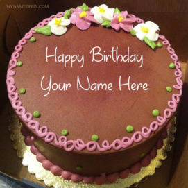Write Name On Brother Birthday Wishes Cake Pictures