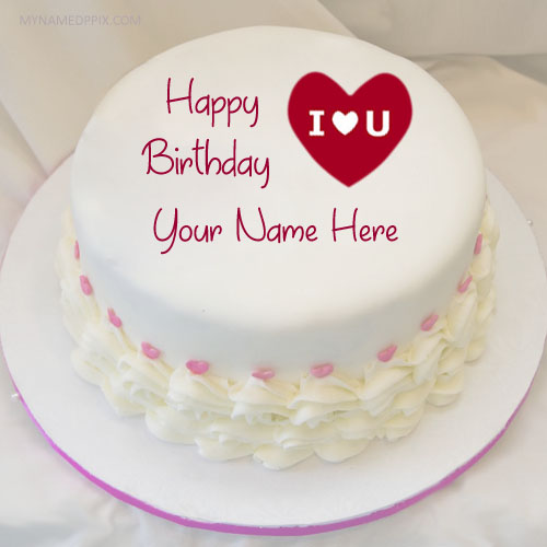 Write Name On Lover Birthday Wishes Cake Pictures