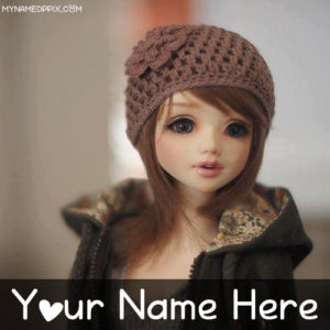Beautiful Doll With Name Whatsapp Profile Photo