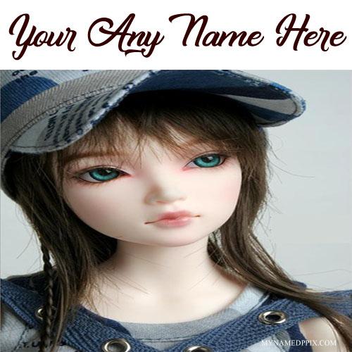 Facebook Set Name Stylish Doll Profile Image