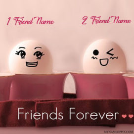 Friends Forever Name Cute Profile Image