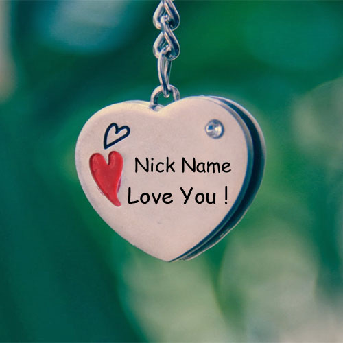Write Name On Love U Pendant Profile My Name Pix Cards