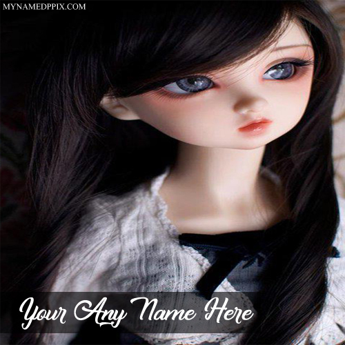 Baby Cute Doll Profile Name Printed Pictures Online Create