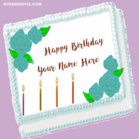 HBD Wishes Name Cake Pictures Sand On Facebook