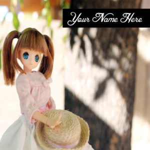 Latest Beautiful Cute Doll Name Profile Photo Edit Online