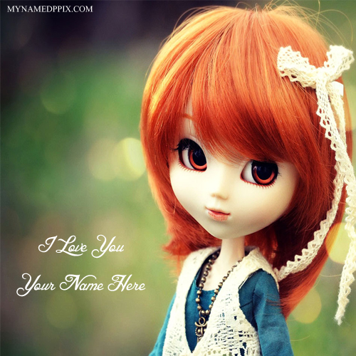 Write Lover Name Love U Cute Doll Profile Pictures My