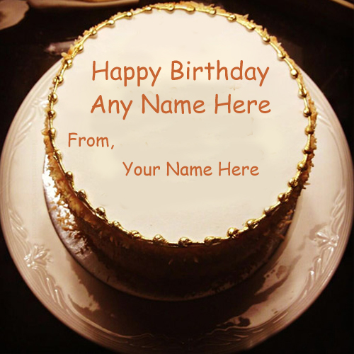 Custom Name Birthday Wishes Beautiful Cake Pictures Edit