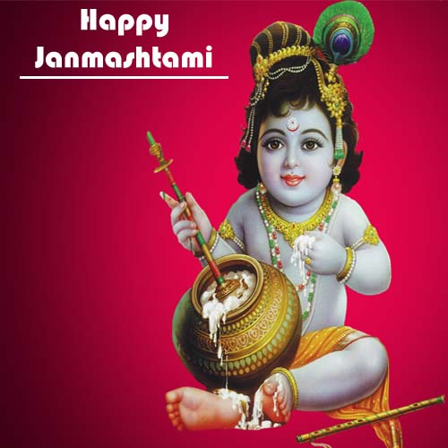 happy janmashtami 2017 wish card name wishes pictures  my