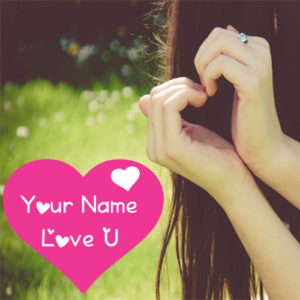 Write Name Love U Sweet Girl Profile Set Pictures