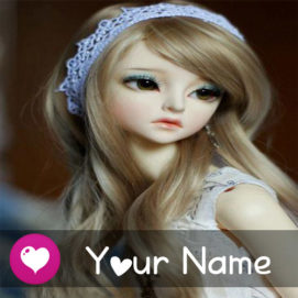 Print Name New Beautiful Love Cute Doll Profile Pictures