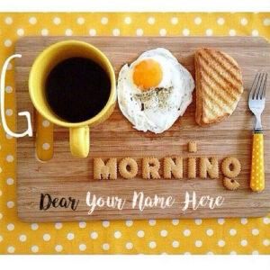 Whatsapp Sent Good Morning Name Wishes Image