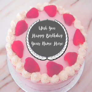 New Beautiful Happy Birthday Cake Name Wishes Profile Pictures