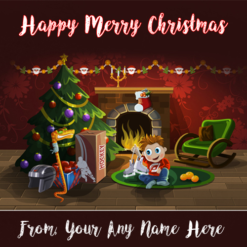 Name Write Latest Christmas Day Wishes Pictures Sent Facebook