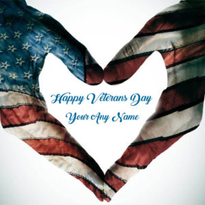 Special Name Write Happy Veterans Day Image Download