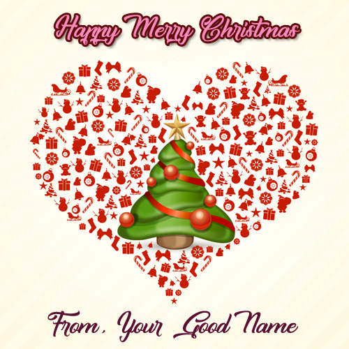 Unique Christmas Decoration Tree Name Wishes Pictures Sent