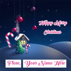 Whatsapp Sent Merry Christmas Wishes Beautiful Name Pictures