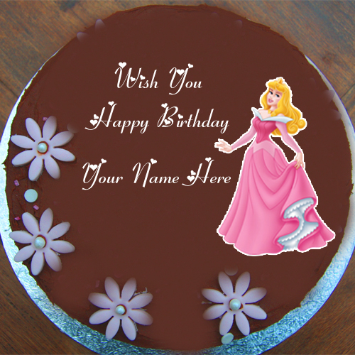 Barbie Doll Birthday Cake Name Wishes Profile Picture Edit