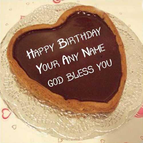 God Blessing Birthday Wishes Cake Name Write Picture Sent Online