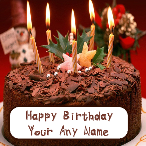 Name Write Birthday Chocolate Cake Wishes Profile Picture Online Sent
