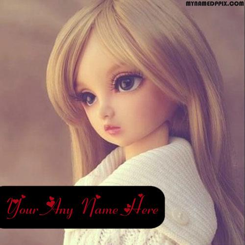 Beautiful Cute Doll Whatsapp Status Name Write Online Image Edit