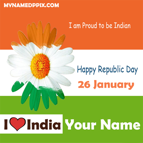 Indian Republic Day Facebook Whatsapp Profile Status Name Image