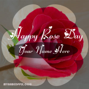 Print Name Unique Rose Day Image Sent Editable Pictures Online