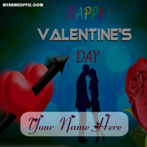 Special Valentines Day Love Greeting Card Name Write Images