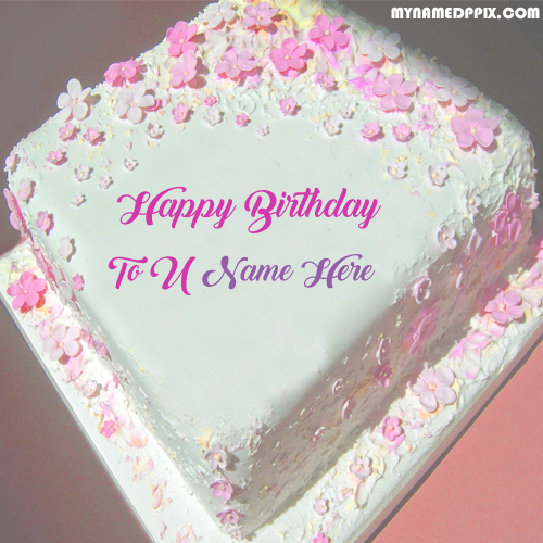 Fine Write Name Happy Birthday Flowers Cake Photo Edit Online Create Funny Birthday Cards Online Alyptdamsfinfo