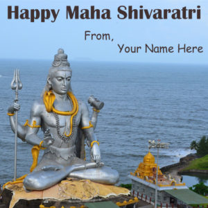 Latest Maha Shivaratri HD Name Edit Wishes Pictures Create Online