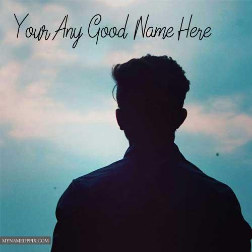 Sad Alone Boy Status Picture Write Name Photo Download