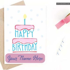 Create My Name Birthday Greeting Cards Online Photo Editor