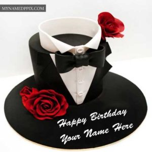 Happy Birthday Cake With Husband Name Wishes Pictures Send