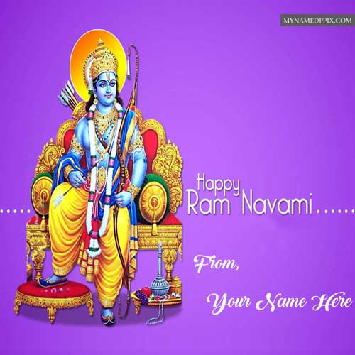 Sent Name Wishes Status Happy Ram Navami Pictures Download Free