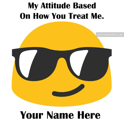 Write Name Emoji Attitude Status Image Quotes Profile Pic Free