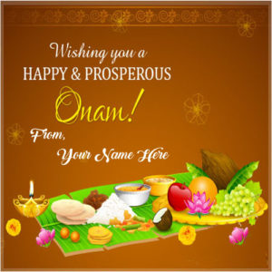 Happy Onam Wishes Name Greeting Cards Send Online Edit Photos