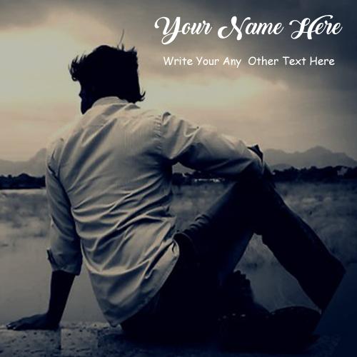 Alone Sad Boy Write Name Status Profile Images Download Free