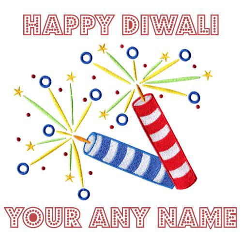 2018 Diwali Crackers Pathkha Name Write Wishes Photos Free