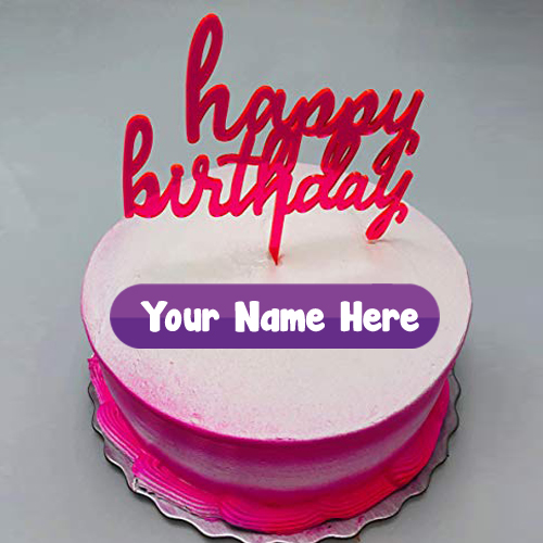 Unique Name Write Birthday Beautiful Cake Pictures Status