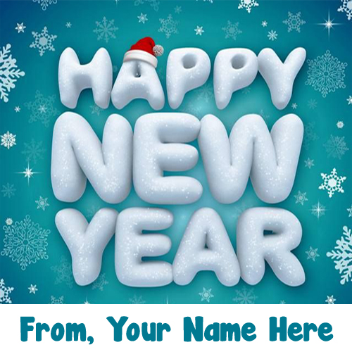 Write Name 2019 Happy New Year Wishes Greeting Card Pictures
