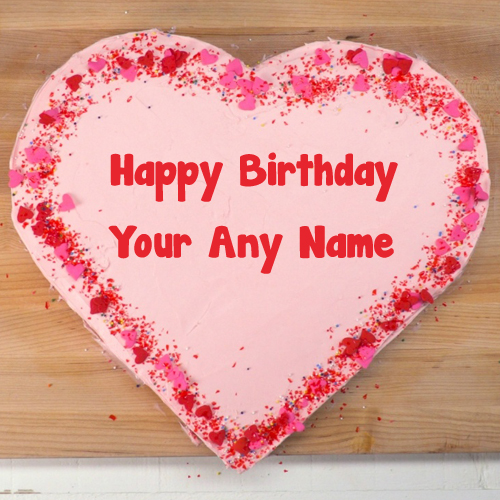 Amazing Birthday Cake Love Name Wishes Photo Maker