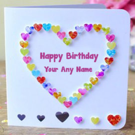 Best Happy Birthday Card Name Wishes Photo Edit Send