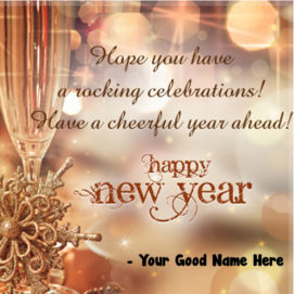 Create Happy New Year 2019 Wishes Name Write Picture Send