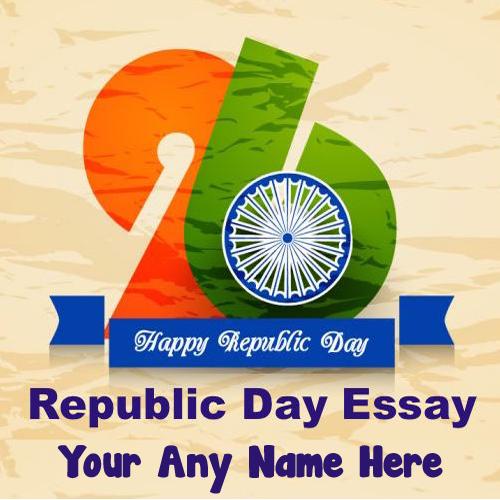 Happy Republic Day India Flag Celebration Wishes Status