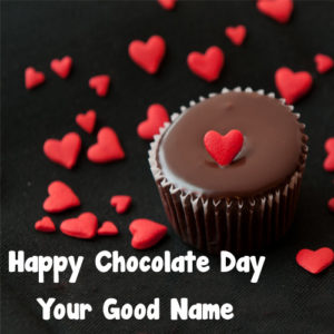 Write Name Happy Chocolate Day Beautiful Picture Free